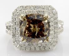 Diamond Ring (5.04 ct CENTER)