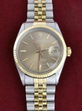Rolex Two Tone DateJust Wristwatch
