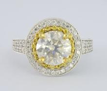 Diamond Ring (2.12 ct CENTER)