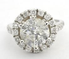 Diamond Ring (3.31 ct CENTER)