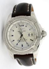 Breitling Chronometre Mens Wristwatch BIG DATE