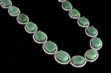 Emerald & Sapphire Necklace