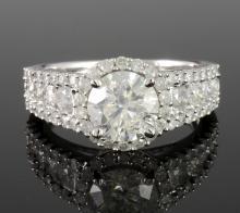 Diamond Ring (1.55 ct CENTER)