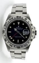Rolex Stainless Steel Explorer II Watch
