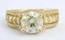 Diamond Ring (2.08 ct CENTER)