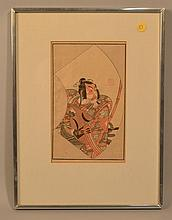 19TH CENT. IPPITSUSAI BUNCHO JAPANESE WOODCUT - CIRCA 1870
