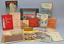 LOT OF VINTAGE TRAVEL SOFT FORMAT PUBLICATIONS