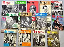 (17) VINTAGE FILMS AND FILMING MAGAZINES FROM THE 1960'S - 1970'S