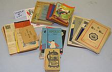 COLLECTION OF (31) MISC. SMALL FORMAT PUBLICATIONS