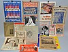 (27) MISC. 19TH CENT. & EARLY 20TH CENT. THEATRE & MOVIE ADVERTISING FLIERS, PROGRAMS AND PUBLICATIONS