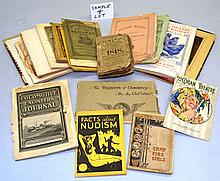 APPROX. (50) MISC. VINTAGE SMALL AND PAPER FORMAT PUBLICATIONS