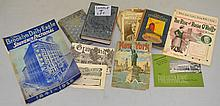 LOT OF MISC. VINTAGE N.Y. & BROOKLYN PAPER EPHEMERA