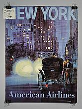(9) MISC. 20TH CENT. U.S. AND FOREIGN TRAVEL POSTERS