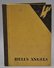 Hell's Angels / Movie by Howard Hughes - Promotional Book