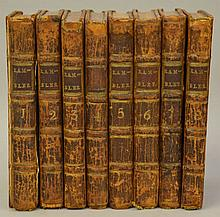 The Rambler by [Samuel Johnson] - Complete in 8 Volumes