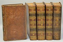 The Holy Bible, Containing the Old and New Testaments, With Original Notes, Practical Observations, and Copious References by Thomas Scott - 5 Volumes [of 6]