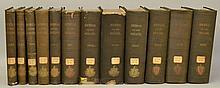 Commonwealth of Massachuetts.  The Journal of the Senate - 12 Volumes