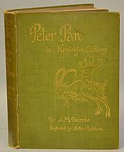 Peter Pan in Kensington Gardens by J. M. Barrie, Illustrated by Arthur Rackham