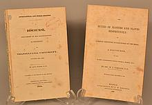 Rare Southern Imprints - 2 disbound Pamphlets