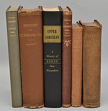 TOWN HISTORIES - 6 Volumes