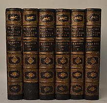 A History of British Birds by The Rev. F. O. Morris - 6 Volumes