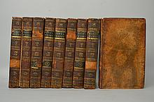 The Works of Alexander Pope Esq. in Nine Volumes, Complete.  With Notes and Illustrations by Joseph Warton - 9 Volumes