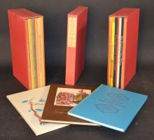 The Evergreen Tales; or, Tales For the Ageless - Limited Edition Club - Complete Set of 15 Volumes in 5 Slipcases