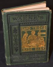 Card Tricks Without Sleight-of-Hand; or, Magic Made Easy by Professor Hoffmann.  WARNE'S BIJOU BOOKS.
