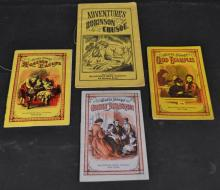 CHAPBOOKS PUBLISHED BY MCLOUGHLIN BROS. IN NEW YORK - 4 Pieces