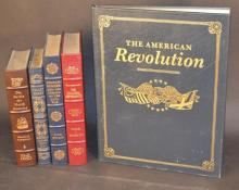 EASTON PRESS - American and Military History - 5 Volumes