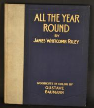 All the Year Round by James Whitcomb Riley, ILLUSTRATED BY GUSTAVE BAUMANN