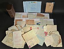 LOT OF 1940'S - 1950'S PALESTINE ERTEZ PALESTINE ISRAEL PAPER EPHEMERA