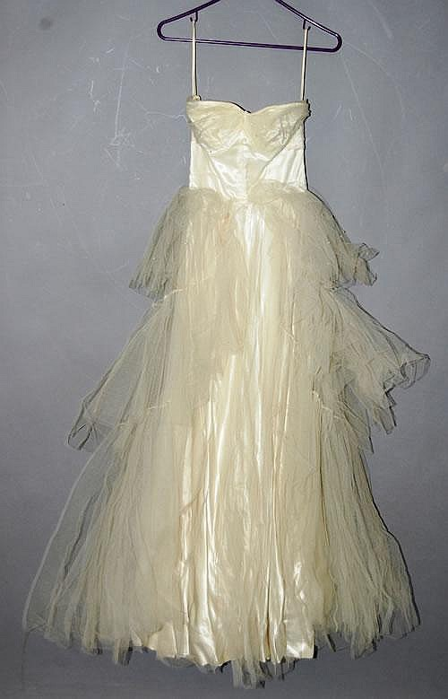KAY SELIG 1950'S VINTAGE PARTY DRESS