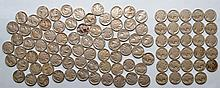 72 DATED BUFFALO NICKELS AND 29 UNDATED/WORN BUFFALO NICKELS