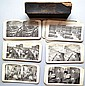 (48) VINTAGE CASED SEARS, ROEBUCK CO., PHOTO LITHOGRAPH STEREOVIEW CARDS