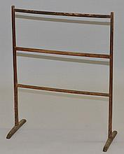 19TH CENT. N.E. PRIMITIVE DRYING RACK