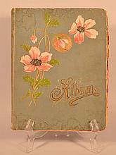 19TH CENT. VICTORIAN SCRAPBOOK ALBUM