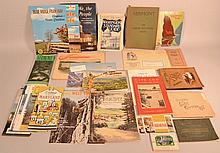 COLLECTION OF MISC. U.S. AND CANADIAN TRAVEL PAPER EPHEMERA