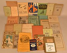 COLLECTION OF MISC. 19TH & 20TH CENT. SMALL FORMAT PUBLICATIONS