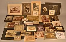 LOT OF MISC. 19TH & EARLY 20TH CENT. FAMILY PHOTOGRAPHS