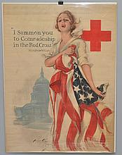 U.S. W.W. I RED CROSS POSTER
