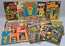 (22) MISC. VINTAGE COMIC BOOKS