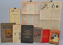 COLLECTION OF (9) 19TH - EARLY 20TH CENT. MERCHANDISE CATALOGS