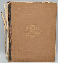F.W. BEERS & CO. - 1870 - ATLAS OF WORCESTER COUNTY MASS.