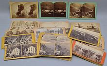 (46) MISC. 19TH CENT. STEREOVIEW CARDS