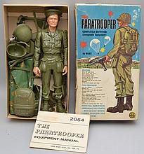 1960'S PARATROOPER DOLL #2054 BY MARX TOYS