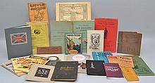 FLAT LOT OF MISC. SMALL FORMAT PUBLICATIONS