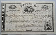 1862 NEW YORK STATE BOND DOCUMENT