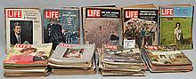 (140) MISC. LIFE MAGAZINES FROM THE 1960'S - 1980'S