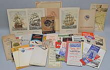 COLLECTION OF VINTAGE TRAVEL PAPER EPHEMERA